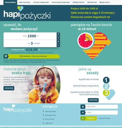 Hapi Pożyczki opinie – www.hapipozyczki.pl