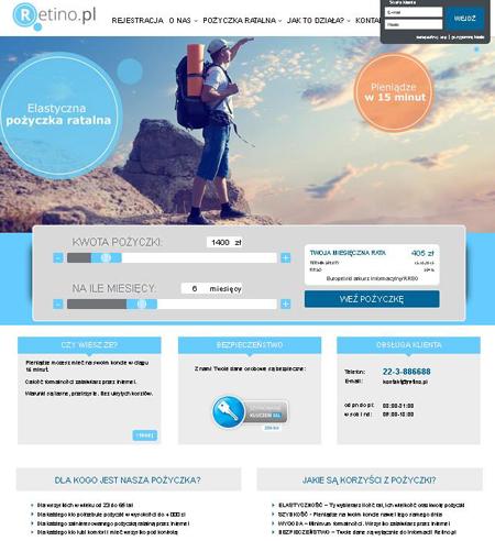 Pożyczka Retino www.retino.pl