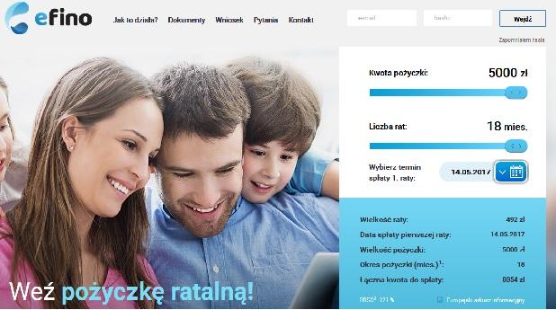 pożyczka efino.pl opinie