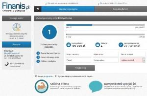 finanis.pl pożyczka kredyt
