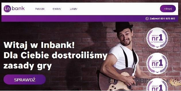 inbankpolska.pl opinie pożyczka kredyt lokaty