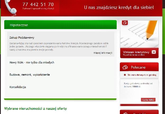 krolkredyty.pl opinie kredyty hipoteczne gotówkowe firmowe