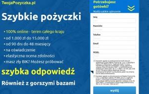 twojapozyczka.pl opinie klientów