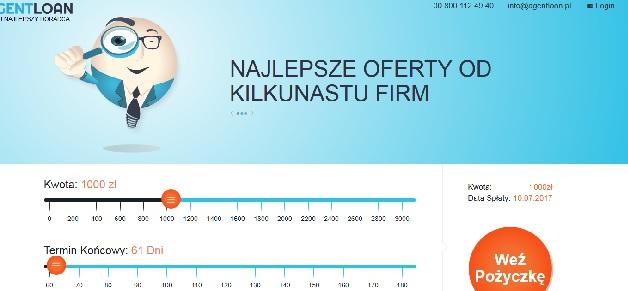 agentloan.pl opinie pożyczka chwilówka