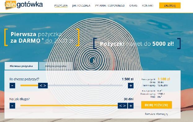 alegotowka.pl opinie pożyczka chwilówka