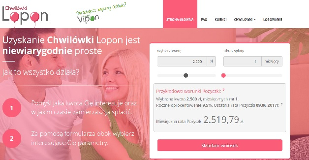 lopon.pl opinie pożyczka chwilówka