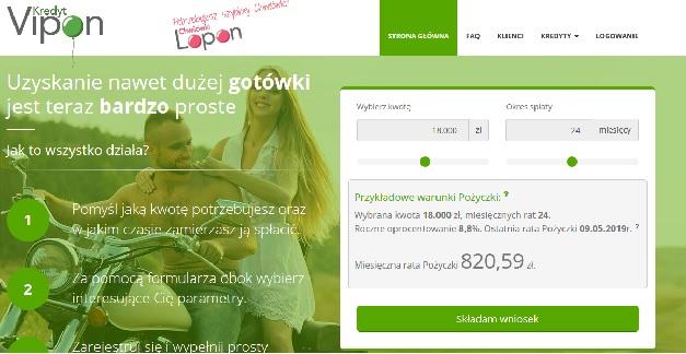 vipon.pl opinie kredyt