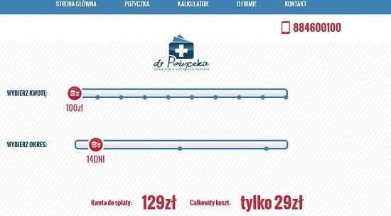 dr pożyczka opinie drpozyczka.com.pl Legnica