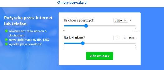 moja-pozyczka.pl opinie