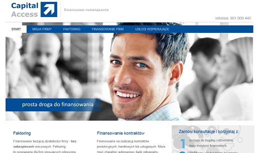 capitalaccess.pl opinie – pożyczki dla firm