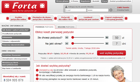 forta-pozyczki.pl opinie forta pożyczka do domu