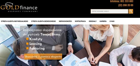 Gold Finance Opinie goldfinance.pl opinie