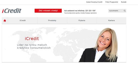 iCredit Opinie Pożyczka Kredyt iCredit.pl opinie