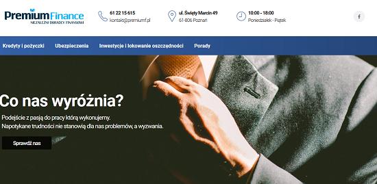 Premium Finance Opinie premiumf.pl opinie