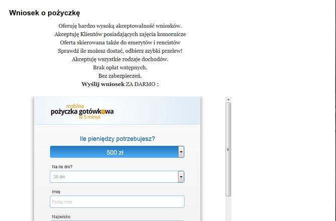 Arkadia Pożyczka Opinie , arkadia-pozyczka.pl (22 Opinie)
