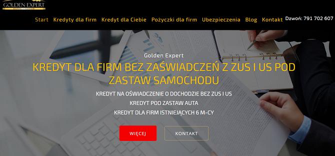 Golden Expert Opinie Pożyczka