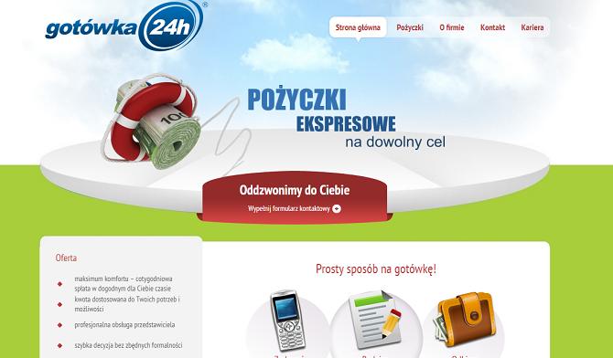 gotowka24h.pl Opinie - Pożyczka ENS