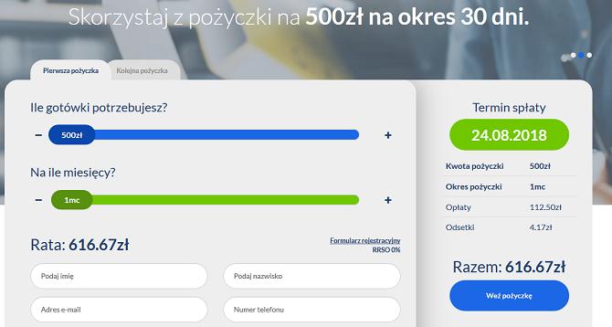 www.minimoney.pl opinie pożyczka