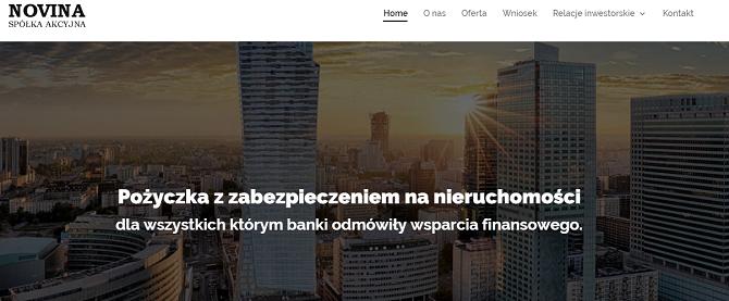Pożyczka Novina Opinie
