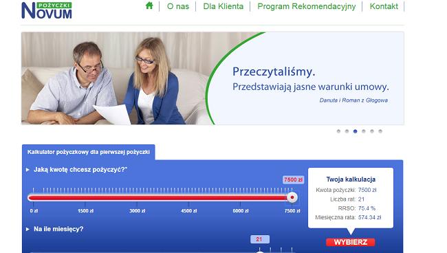 Pożyczki Novum Opinie – pozyczkinovum.pl Opinie