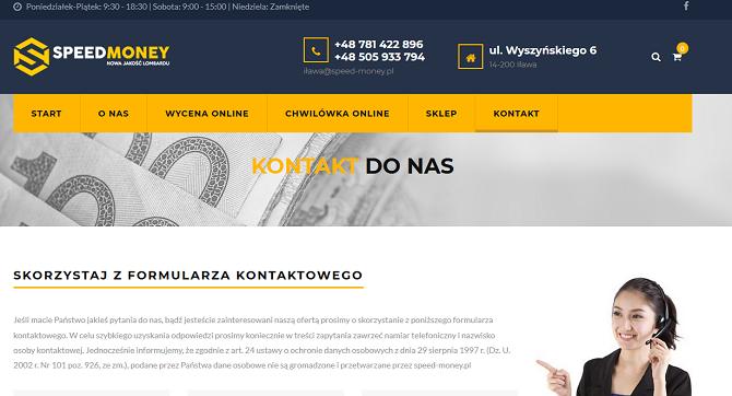 speed-money.pl opinie chwilówka lombard