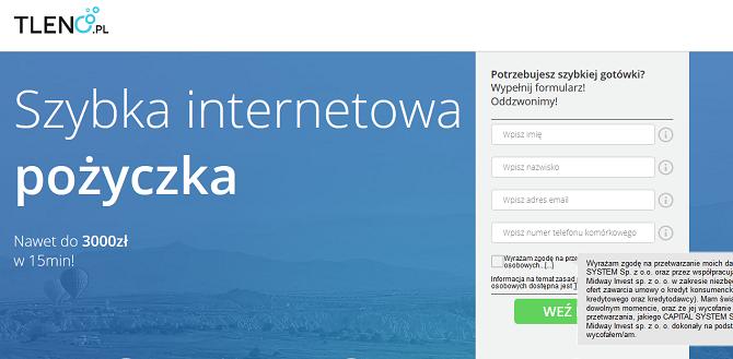 www.tleno.pl  Opinie Pożyczka Forum