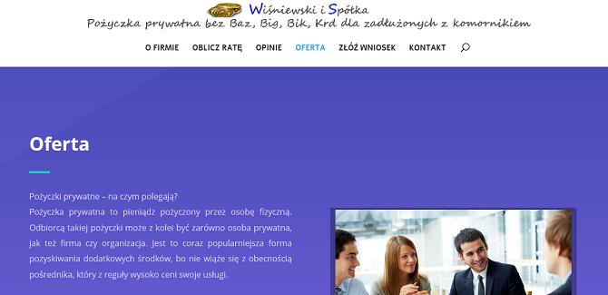 wisniewskipozyczkaprywatna.pl opinie