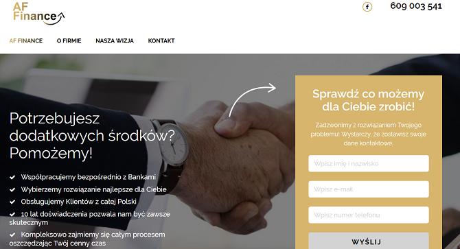 AF Finance Opinie – affinance.pl opinie