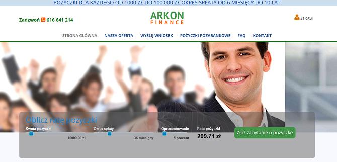 Arkon Finance Opinie