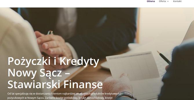 Stawiarski Finanse Nowy Sącz
