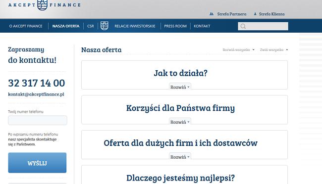 AKCEPT Finance Opinie akceptfinance.pl (23 Opinie)