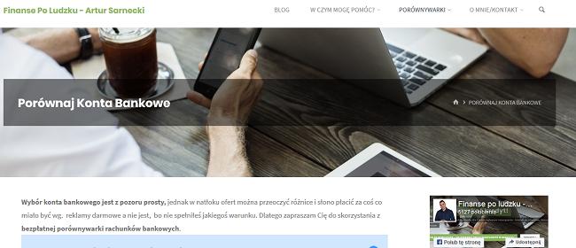 www.artursarnecki.pl doradzca finansowy