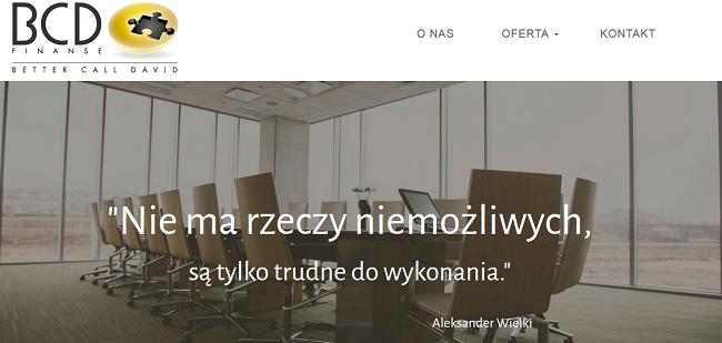 BCD Finanse opinie bcdfinanse.pl (34 opinie) forum