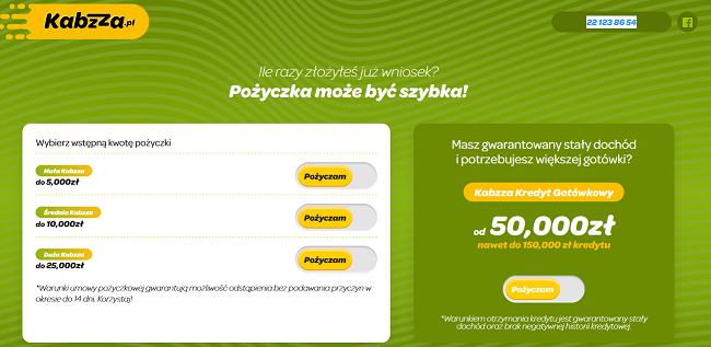 www.kabzza.pl kontakt