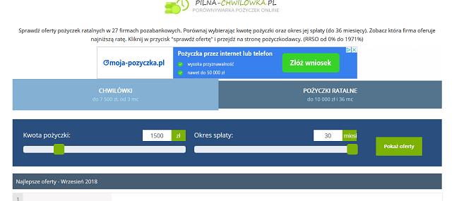 pilna-chwilowka.pl opinie