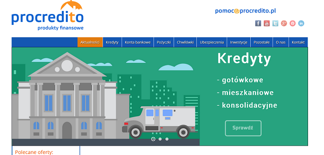 www.procredito.pl opinie