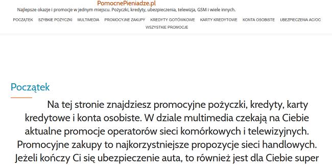 www.pomocnepieniadze.pl