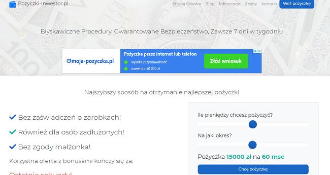 www.pozyczki-inwestor.pl