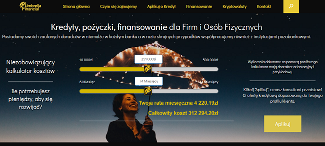 www.umbrellafinancial.pl
