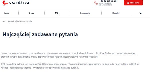 Cardina Opinie cardina.pl (43 opinie) forum