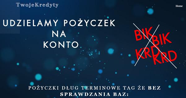 kmtwojekredyty.com Opinie KM Twoje Kredyty (22 Opinie)