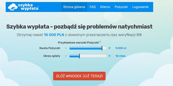 szybka-wyplata.pl opinie Szybka Wypłata (22 opinie)