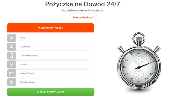 tele-gotowka.pl opinie TELE GOTÓWKA (34 Opinie)