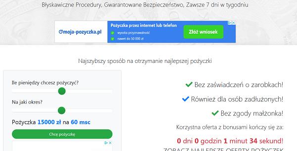 udzielam-pozyczki.pl Opinie Udzielam Pożyczki (22 opinie)
