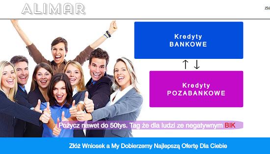 Alimar Kredyt Opinie alimarkredyt.com (23 opinie)