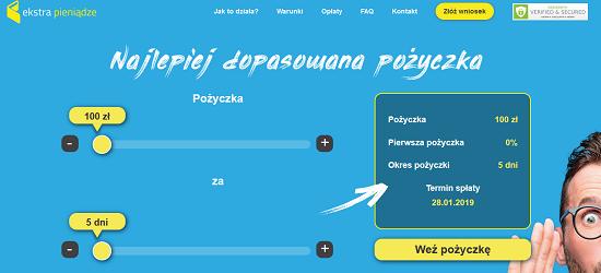Ekstra Pieniądze Opinie ekstrapieniadze.pl (34 opinie)