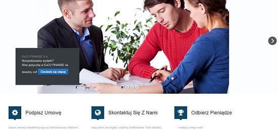 Euco Finanse Opinie eucofinanse.pl (33 opinie)