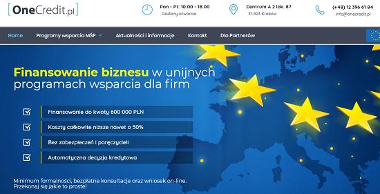 One Credit Opinie onecredit.pl (34 opinie) forum