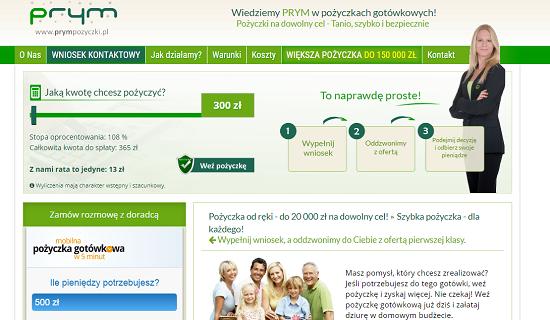 Prym Pożyczki Opinie prympozyczki.pl (34 opinie)