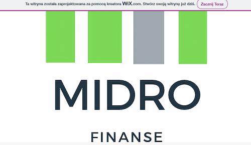 Midro Finanse Opinie midrofinanse.pl (33 opinie)